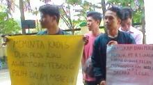 DLHK Prov Riau Didesak Mahasiswa Usut Izin PT RSU
