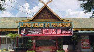 Antisipasi Klaster Lapas,Ibnu Chuldun Sebut Sudah 2.800 Napi di Riau Dapat Asimilasi