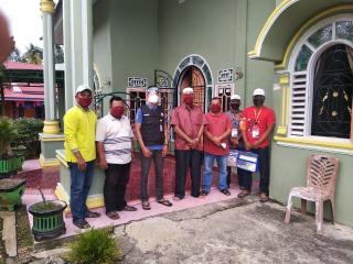 Lakukan Mencoklit Serentak PPS Desa koto Kopah Dampingi PPDP.