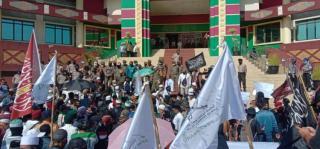 Tolak RUU HIP, Sejumlah Tokoh Riau Ikut Demo ke DPRD Riau