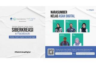 Kementerian Kominfo Bersama GNLD Siberkreasi dan Facebook Adakan Kelas Asah Digital