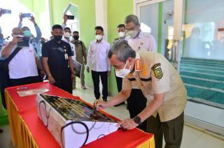 Resmikan Mesjid At-Taubah di Lapas Narkotika Rumbai, Ini kata Gubernur Riau