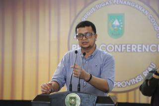 Tambah 23 Positif Covid-19 di Riau, Jubir: Kondisi Ini Mengkhawatirkan