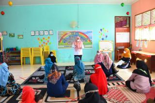 Disdik Bengkalis Gelar Penyuluhan Perlindungan Anak bagi Tenaga Pendidik dan Wali Murid