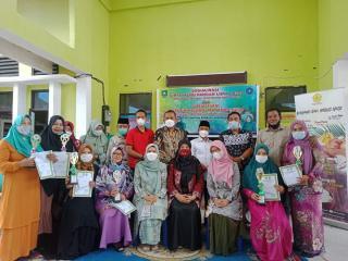 Dinas Ketahanan Pangan Sosialisasikan Pola Konsumsi Pangan di Kecamatan Bandar Laksamana