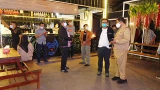 Bupati Siak Alfedri Pimpin Langsung Razia Prokes Di Kecamatan Tualang